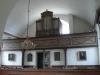Orgelläktaren i ´nykyrkan´ i norr.