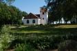 Stävie kyrka i en mycket vacker miljö