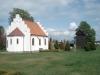 Kapellet och klockstapeln. Maj 2013