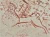 Ett lejon finns i sakristian. Det är symbol för Markus. Foto Stig Alenäs