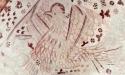 Örnen finns i sakristian liksom inskriften ´Nils´ som kan vara konstnären. Foto Stiig Alenäs