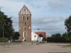 Mariakyrkan i Båstad från vest