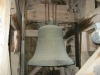 Stora klockan från 1704 men den är omgjuten.