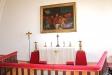 Altartavlan återger Nattvarden