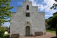 Kapellet från kyrkogården.