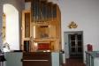 Kyrkans orgel.