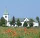 Oppmanna kyrka söderifrån