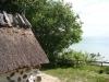 Kapellet i sjöboden har en hänförande utsikt över Hanöbukten