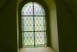 Ett vackert glasfönster.