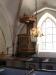 Predikstolen är från 1600-talet