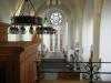Kyrkans interiör sedd ifrån orgelläktaren