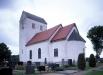Farstorps kyrka sommaren 2003 - Innan senaste restaureringen. Foto: Åke Johansson.