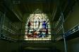 Korfönstret av okänd tysk glaskonstnär.