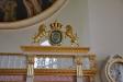 Den praktfulla predikstolen från 1756 är gjord av Sven Segerwall i Växjö .