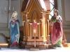 Detalj av altarprydnaden