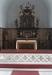 Altaret med överdel från 1675