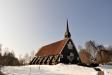 Hindås kyrka i mars 2016