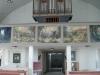 Orgeln med Bodil Kaalunds bilder.