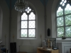 Ljus och rymlig sakristia