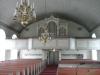 Interiör mot orgelläktaren.