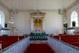 Kyrkorummet mot altaret juni 2016.