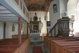 Inne i gamla Svenneby kyrka