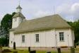 Kyrkan från kyrkogården juni 2016.