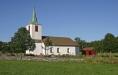 Hålanda kyrka och kyrkogård (foto:Åke Johansson)