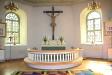 Altaret med Kristusbilden från 1400-talet.