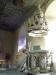 Den praktfulla predikstolen i barock från 1600-talet