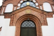 Tranemo kyrka byggd under konung Oscar ll:s regering 1882.