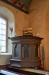 Förhållandevis enkel predikstol från 1744