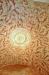 I koret murat tunnvalv som är rikt bemålat med motiv av bladrankor samt rosettmotiv i takets mitt.