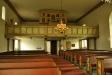 Orgeln från 1918 är byggd av J Magnusson
