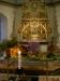 julkrubba och altaruppsats
