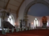 predikstol och golvur från gamla kyrkan