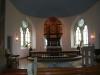 det vackra altaret som hämtades från gamla kyrkan