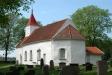 Runsten vid Eggvena kyrka - Vg 151. Foto: Åke Johansson.