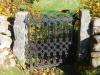 Sidoport i norra kyrkmuren. Eget foto.