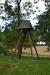 Klockstapeln på Kinne-Klevas ödekyrkogård