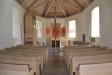 Kyrkorummet efter branden