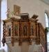 Predikstol från 1689