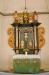 Altartavlan skänktes 1751 i samband med kyrkans invigning