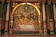 Altaruppsatsens nedre målning.