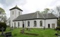 Gestads gamla kyrkplats med gravmonumentet