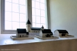 Trevliga modeller som visar hur kyrkan sett ut genom århundradena