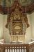 Predikstol i barockstil från 1734