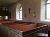 Inuti Bälinge kyrka.