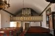 Altaruppsats från 1656 inköpt för 60 riksdaler från Länghems gamla kyrka