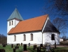 Dannike kyrka på 90-talet. Foto: Åke Johansson.